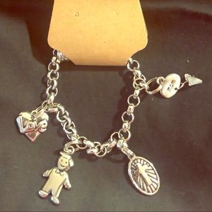 Magnetic Close Charm Bracelet